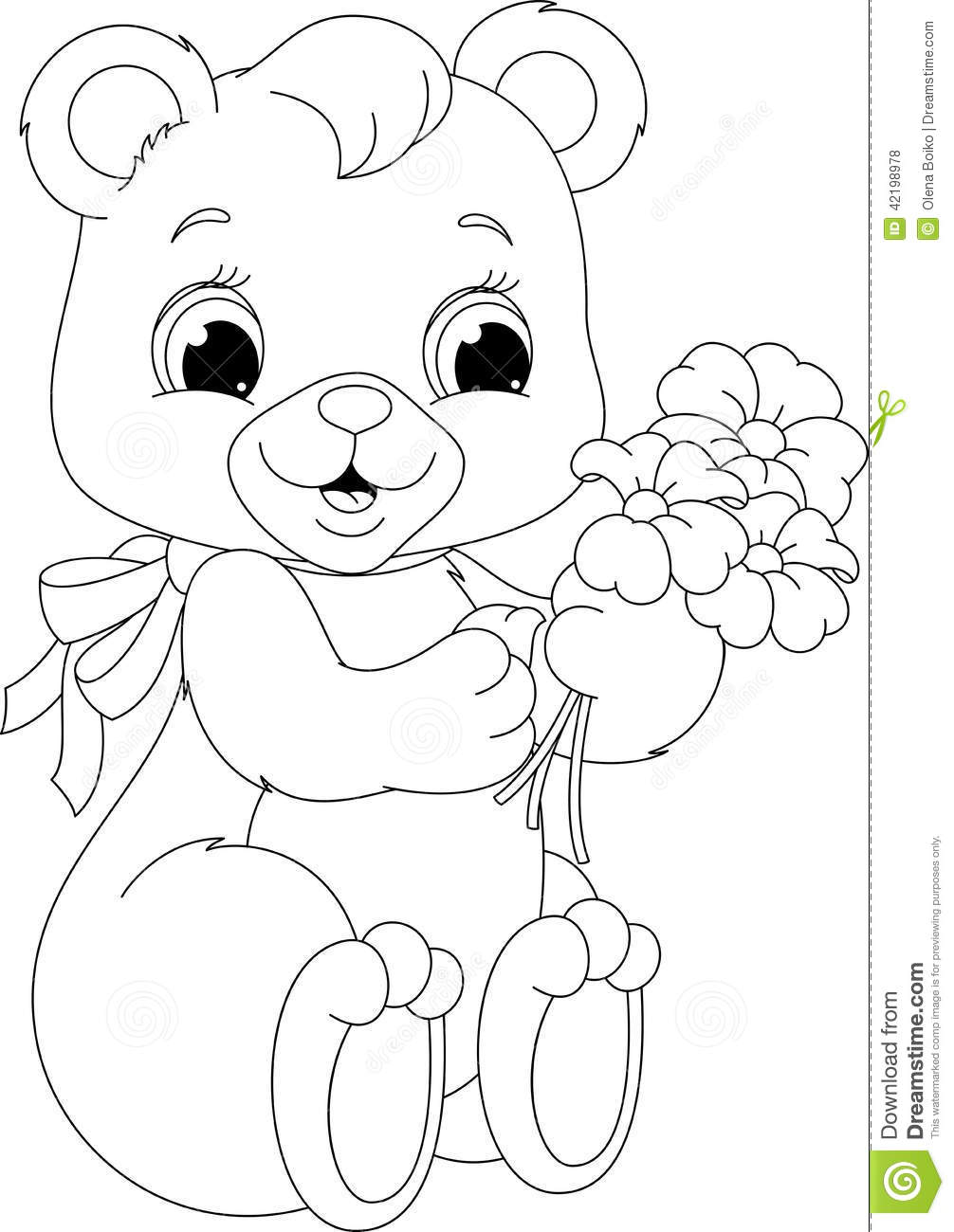 cute teddy bear coloring pages image of teddy bear coloring pages