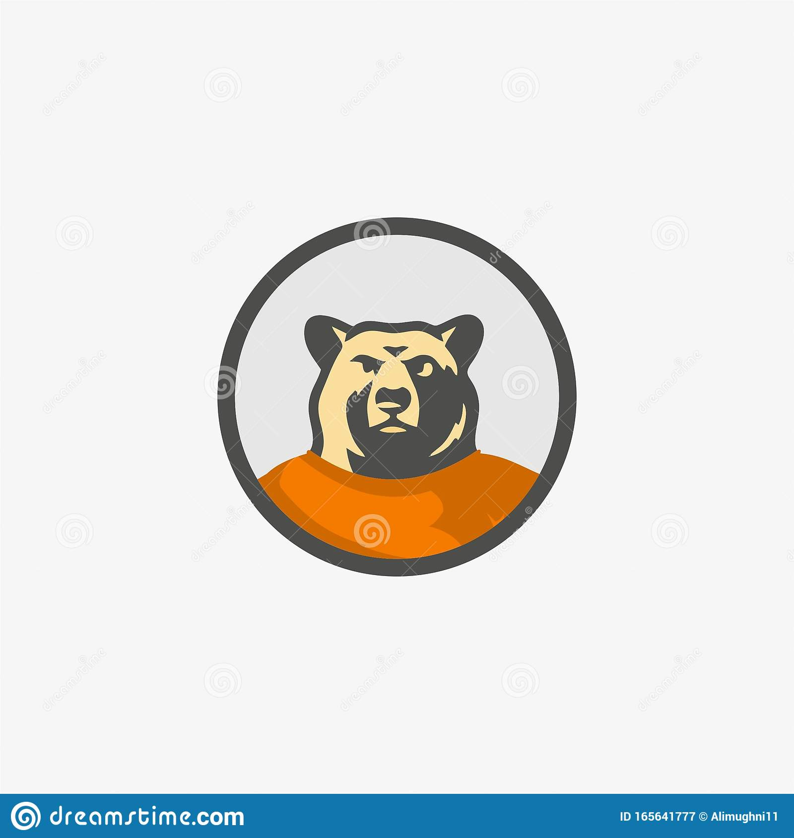 Bear Front Look Illustration For Logo Template Stock Vector Illustration Of Claw Facing 165641777 Free site with personal ads for bears and fans of hairy bears. https www dreamstime com bear front look illustration logo template simple drawn facing forward tshirt strong cartoon style image165641777