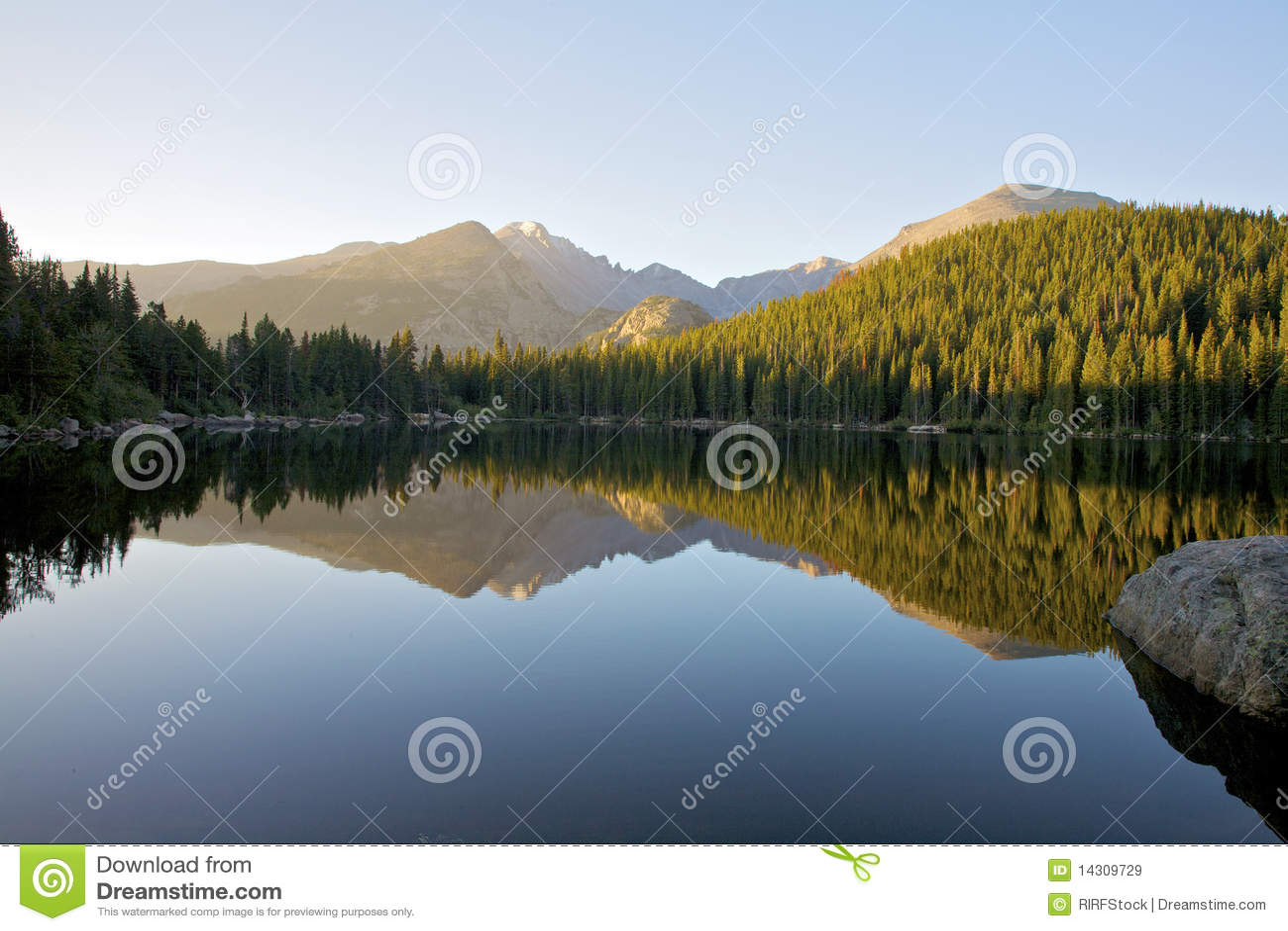 Bear Lake at Sunrise