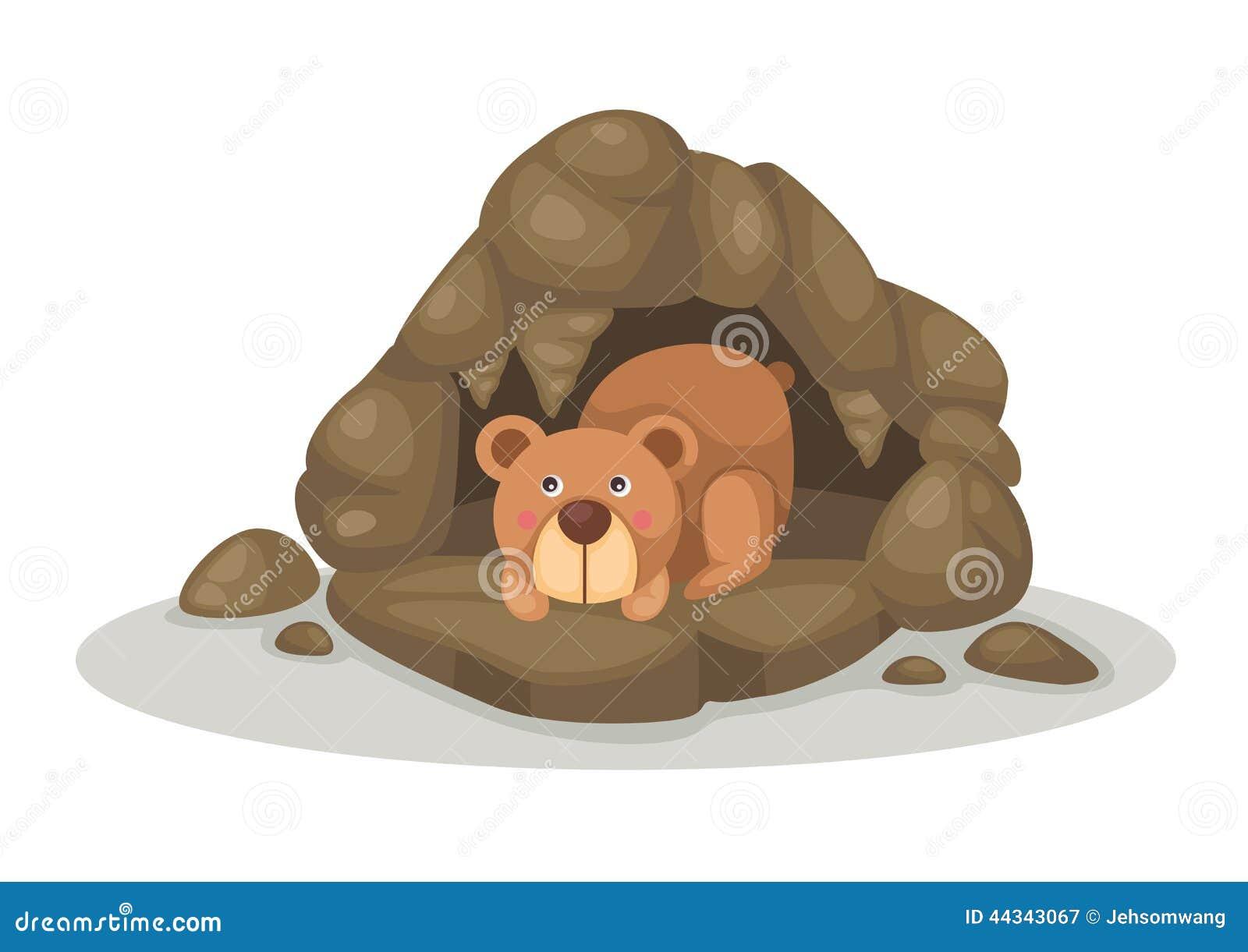 Bear Cave Cartoon | www.pixshark.com - Images Galleries ...