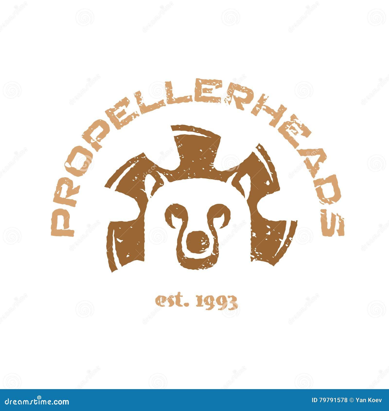 Bear t shirt illustration animal head logo