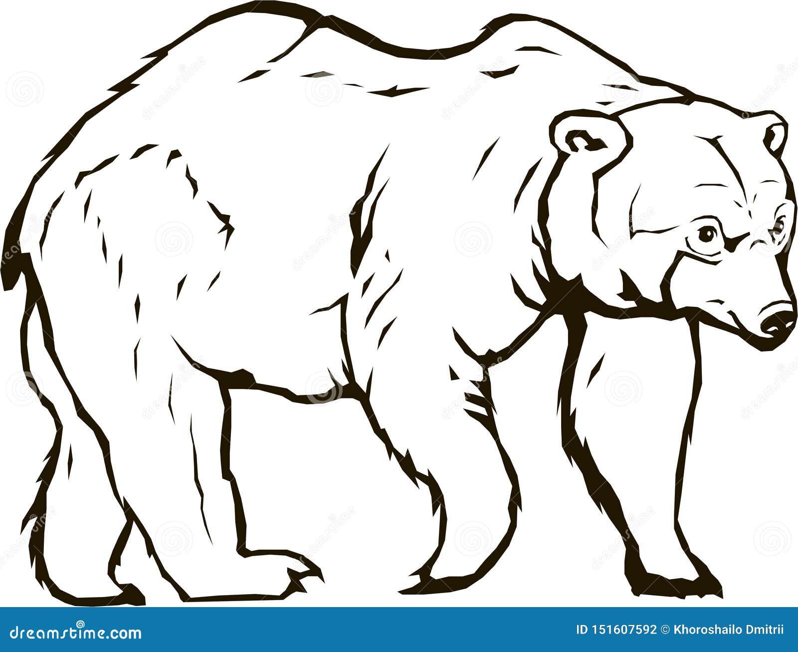 Bear vector blackbear