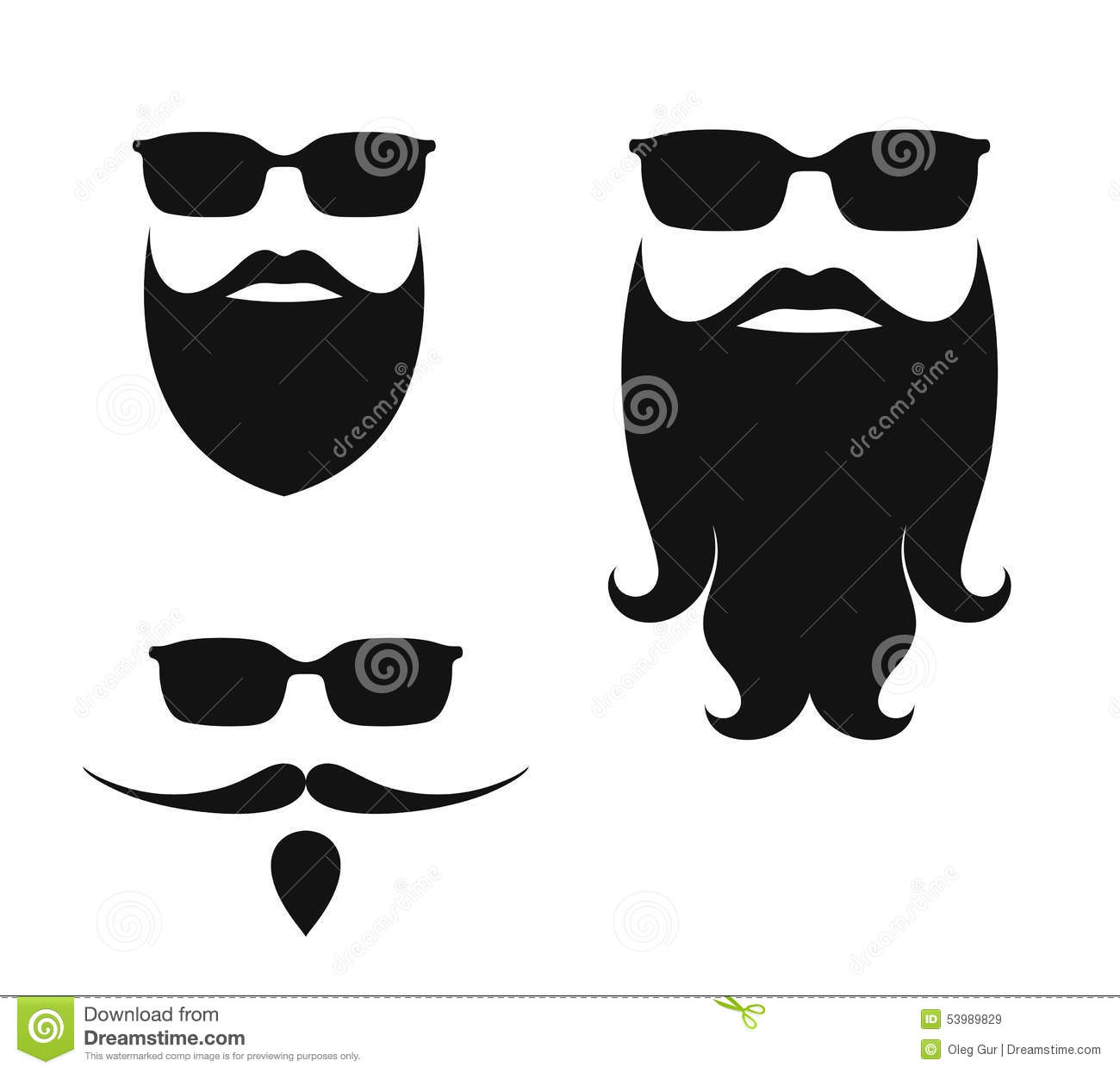 beard stock vector image 53989829 clip art laughing hysterically clip art laughing people