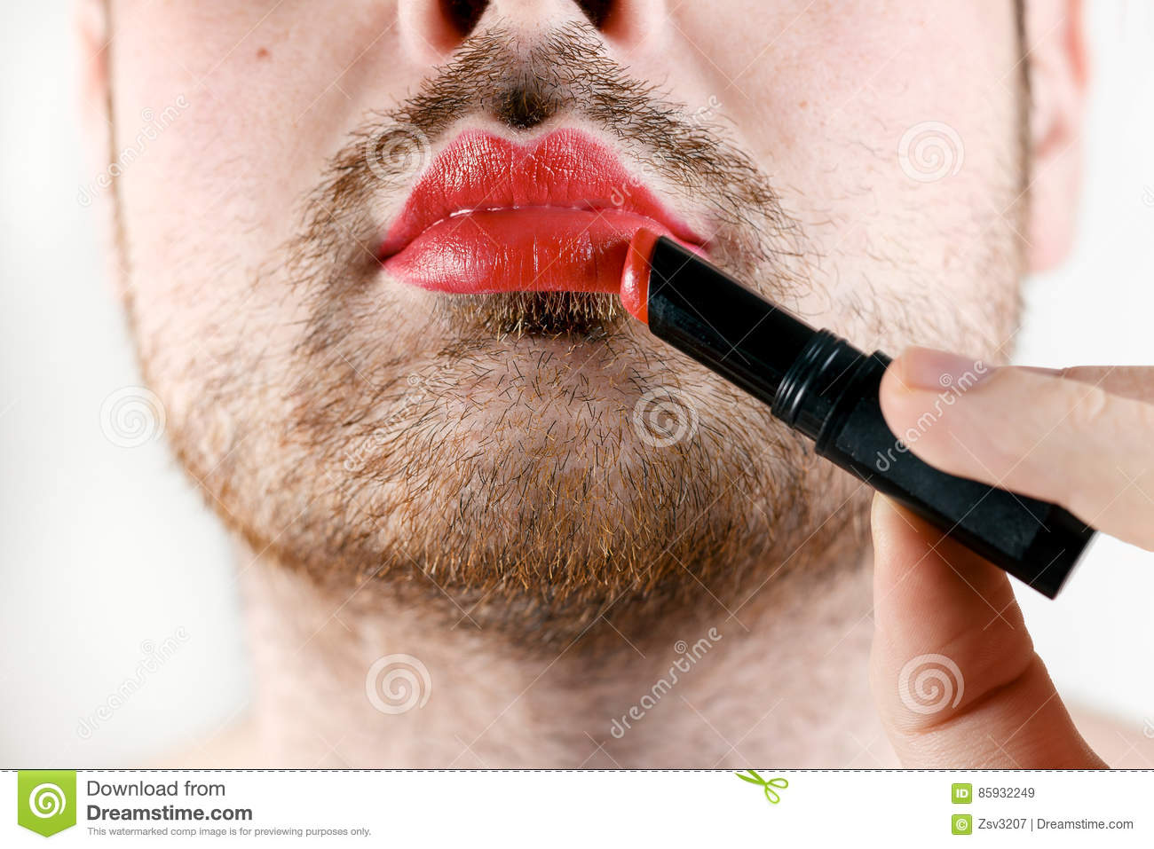 Have thought transvestite pictures lipstick right!