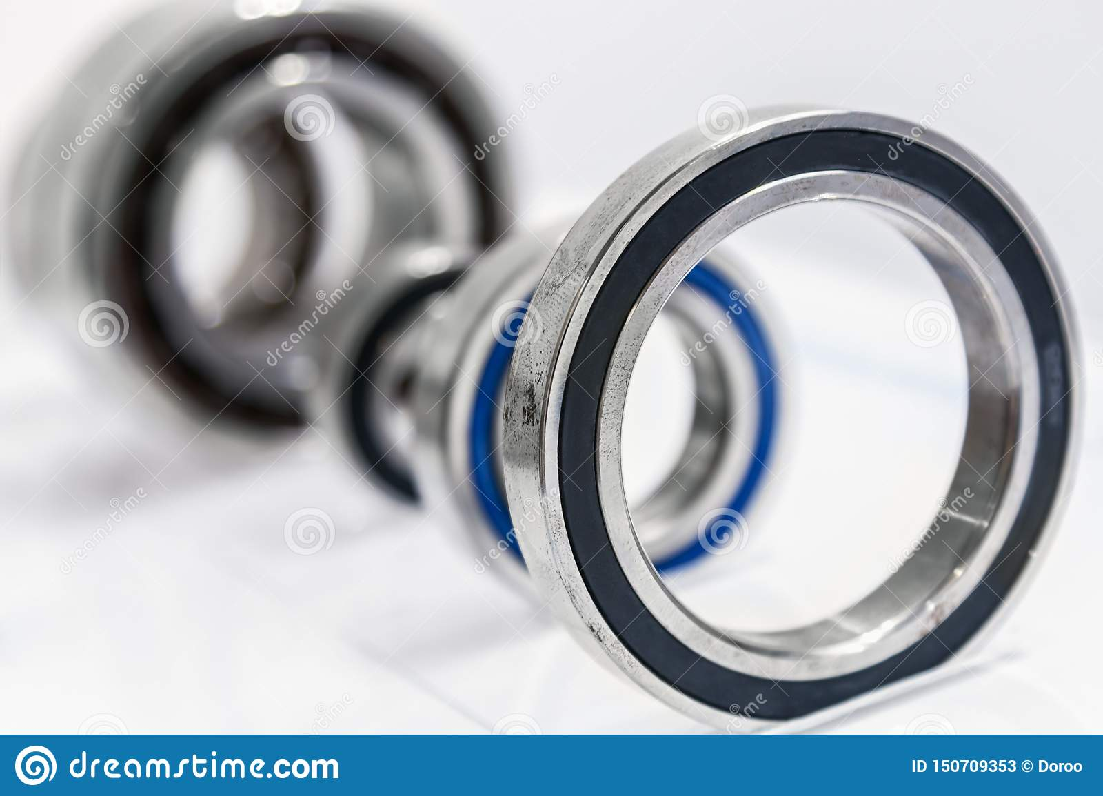 Bearings are different size machines for the Metalworking