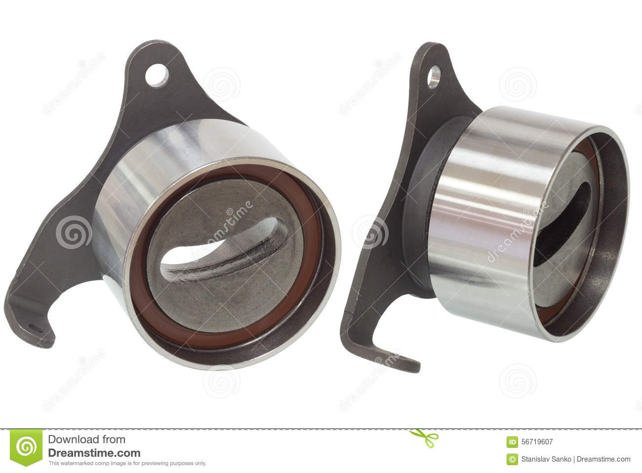 Bearings isolated on a white background