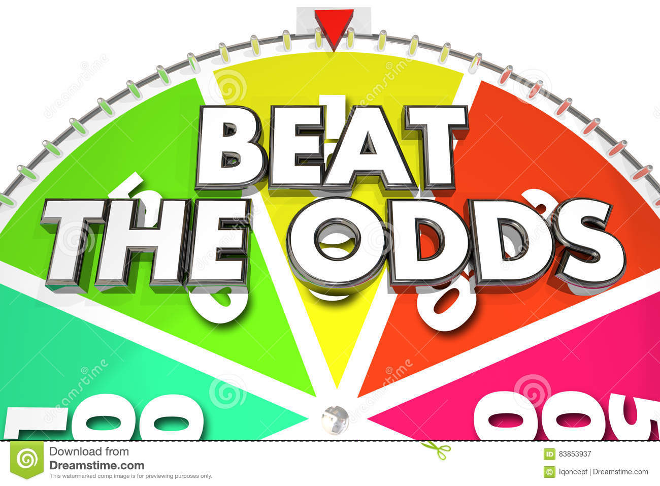 Beat the Odds Spinning Wheel Chance Win