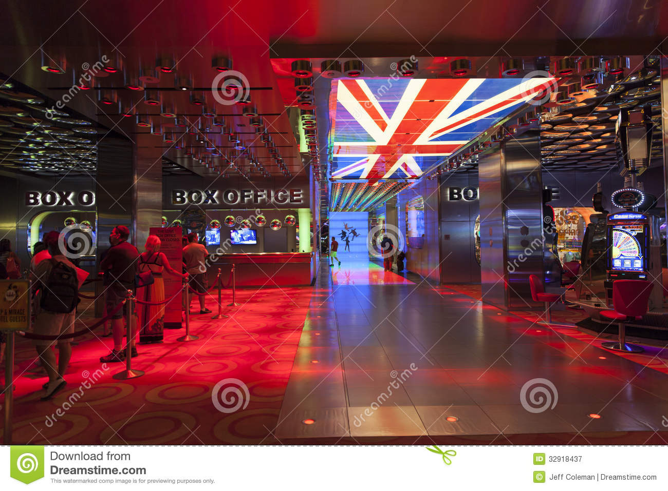Beatles Love Show Box Office At The Mirage In Las Vegas Nv On A Editorial Photography Image Of Show Strip 32918437