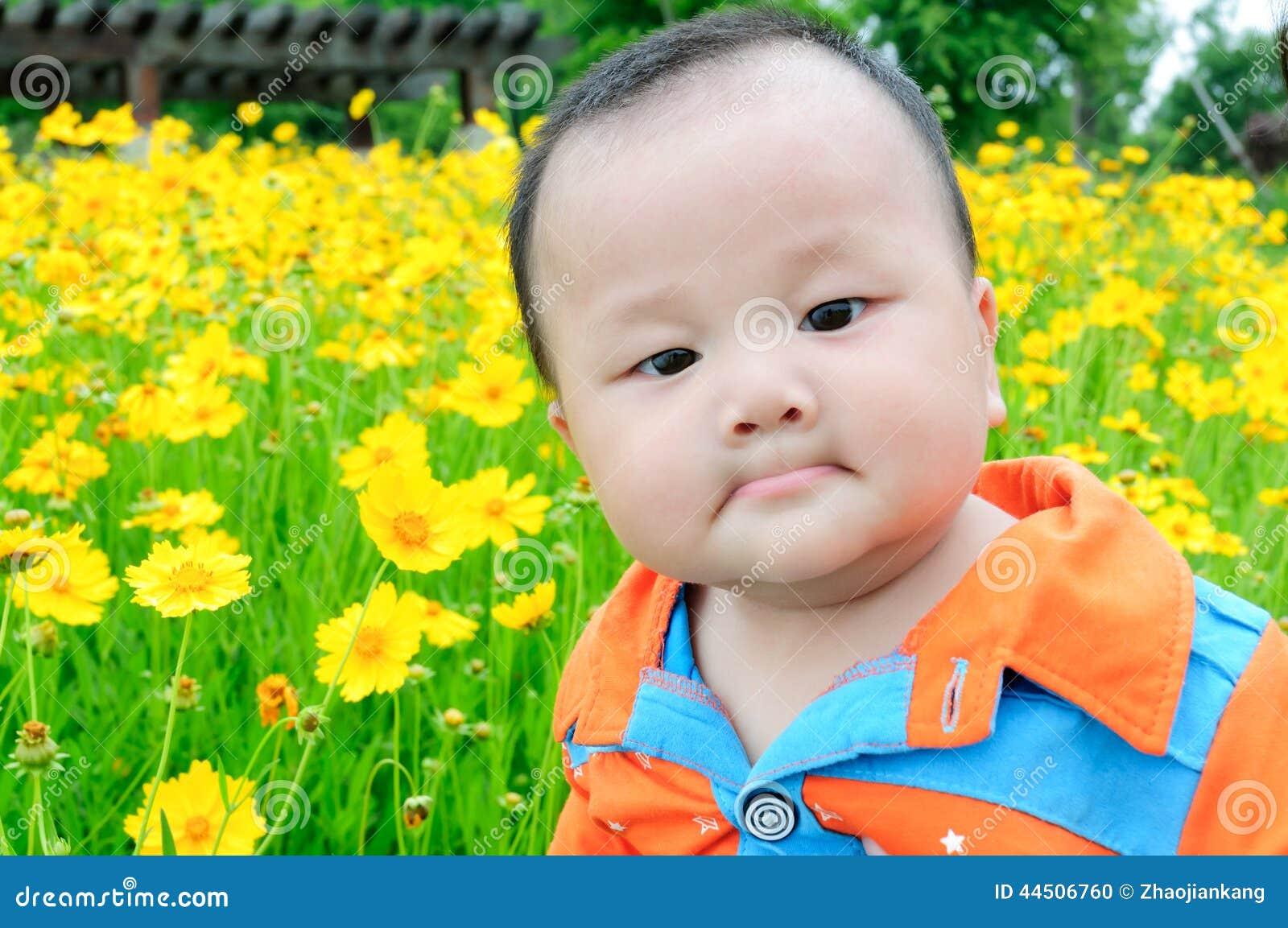 Beau Bébé Chinois Photo Stock Image Du Asie Porcelaine 44506760