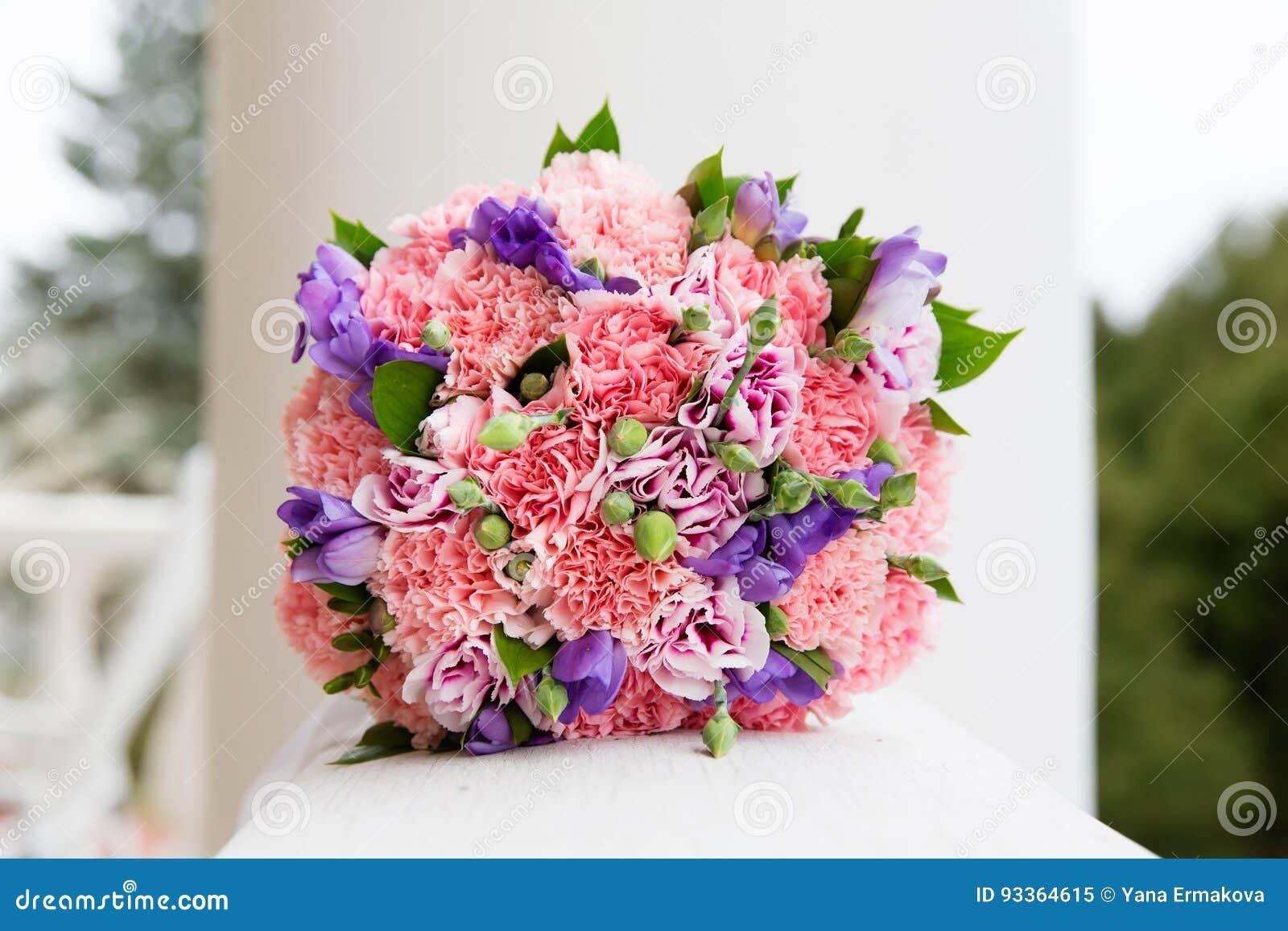Beau Bouquet De Mariage Image Stock. Image Du Conception