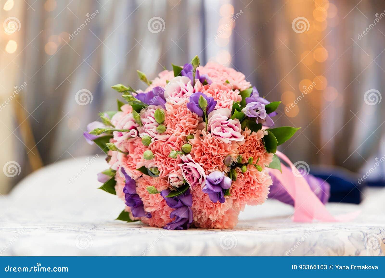 Beau Bouquet De Mariage Image Stock. Image Du Occasion