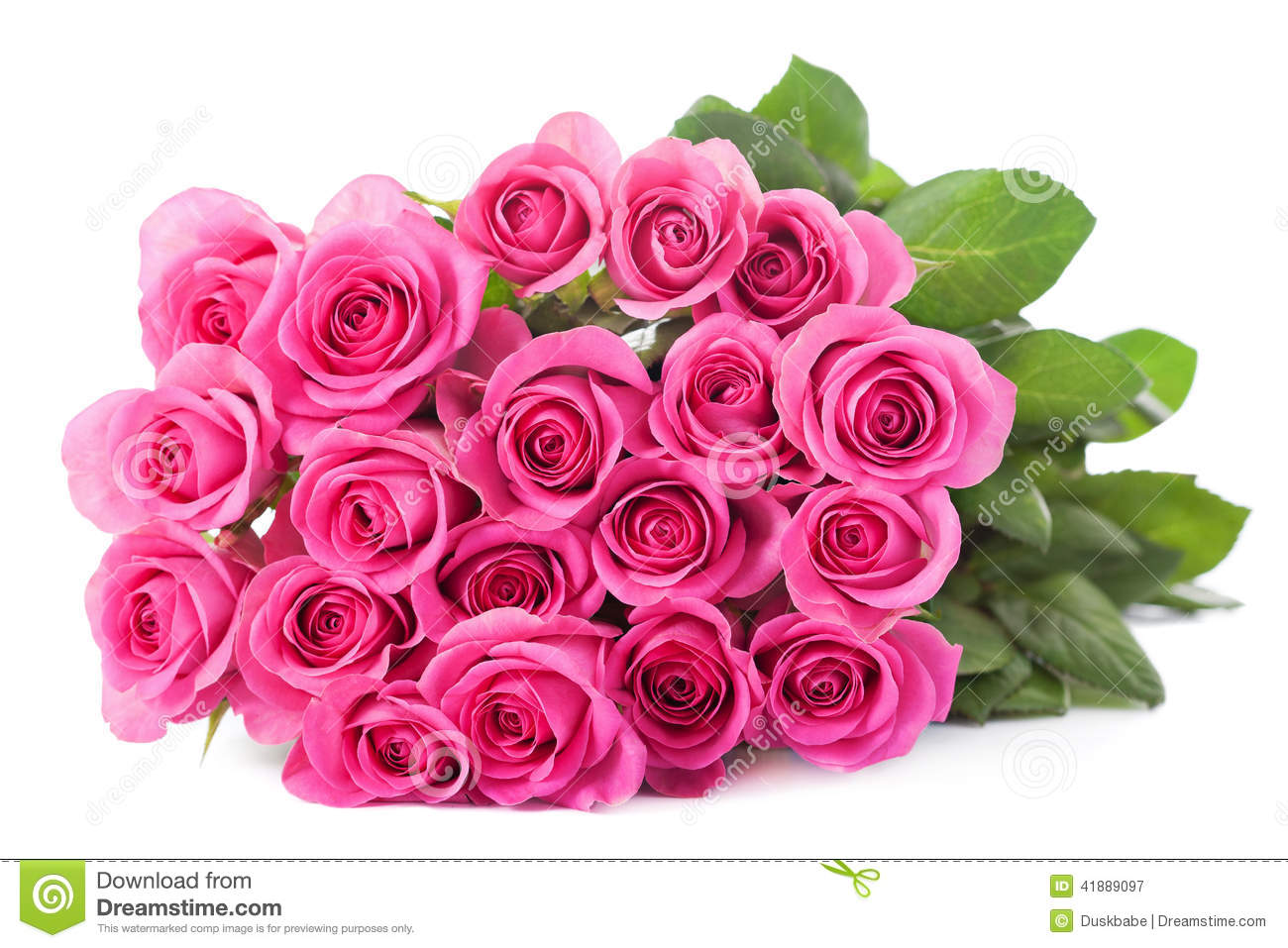 Beau bouquet rose de roses d 39 isolement image stock image for Bouquets de roses