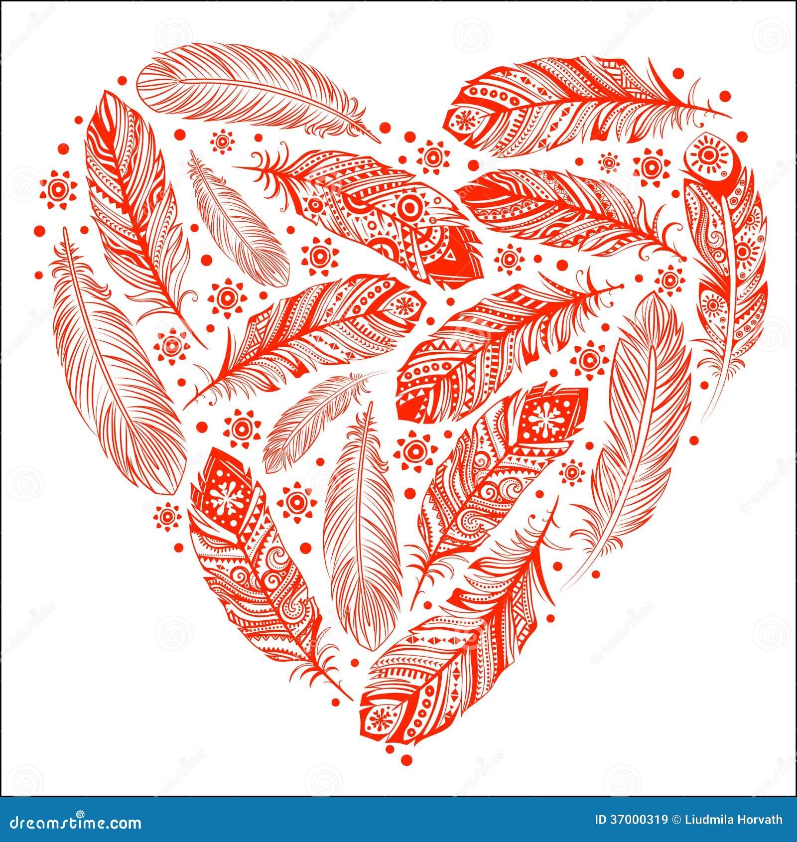 beau coeur de saint valentin images libres de droits image 37000319. Black Bedroom Furniture Sets. Home Design Ideas