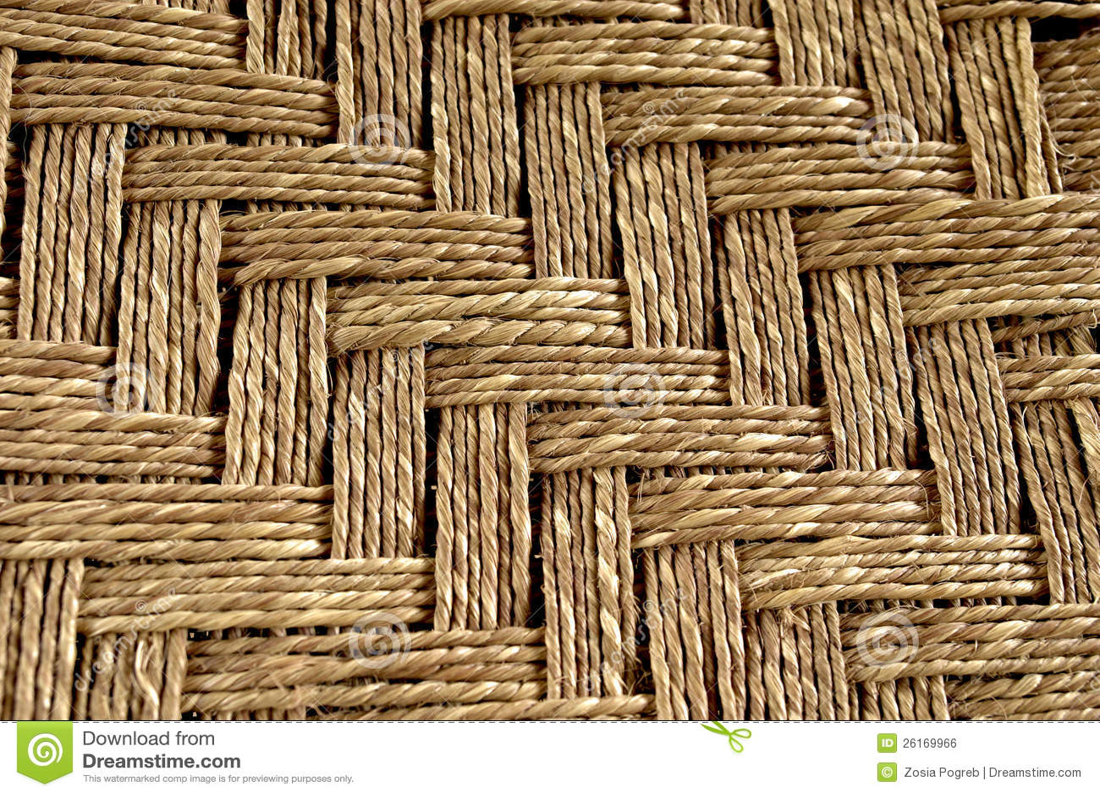beau couvre tapis tiss de la corde image libre de droits image 26169966. Black Bedroom Furniture Sets. Home Design Ideas