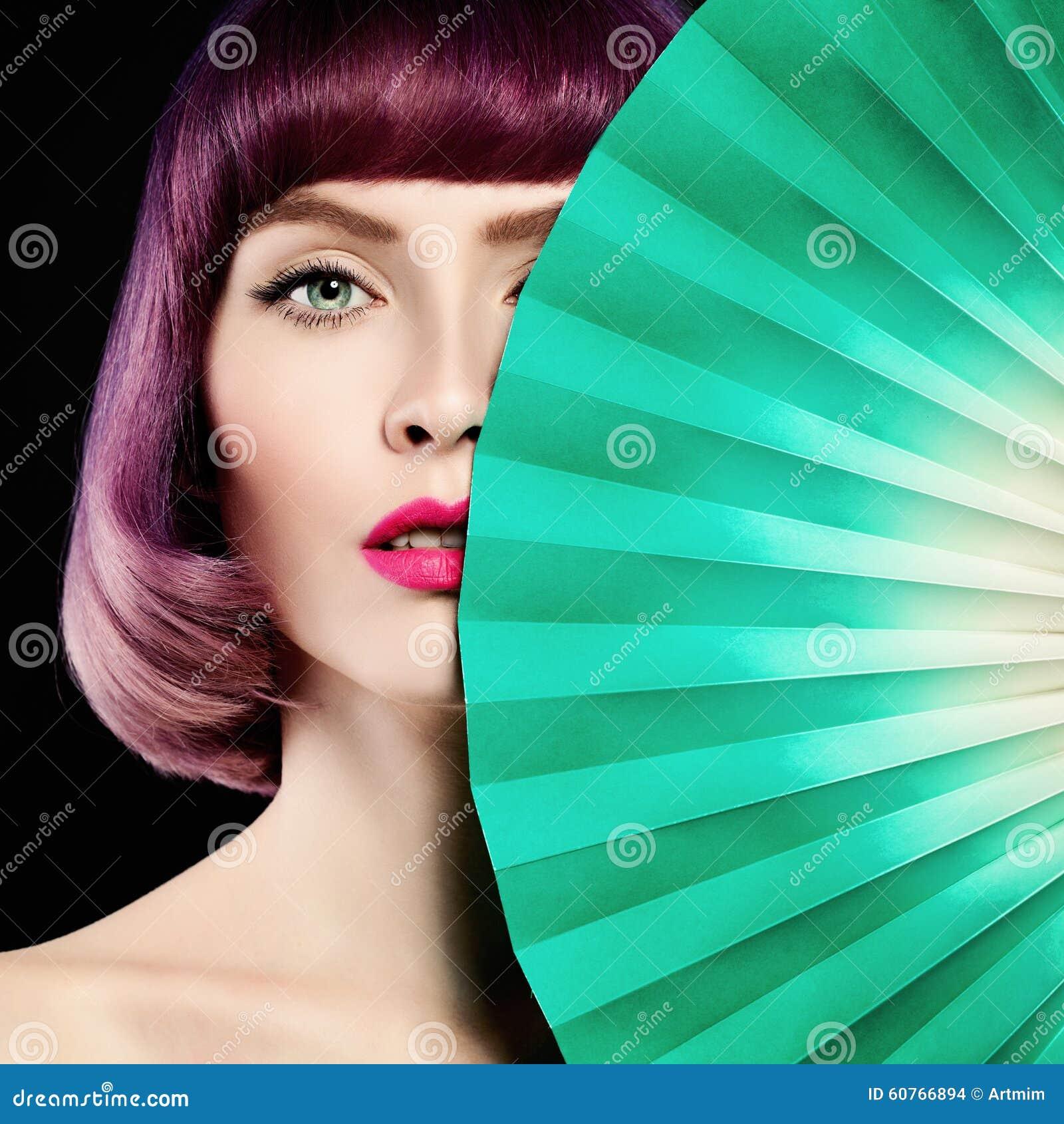 beau femme cheveux colors de coloration maquillage - Dcolorer Cheveux Colors