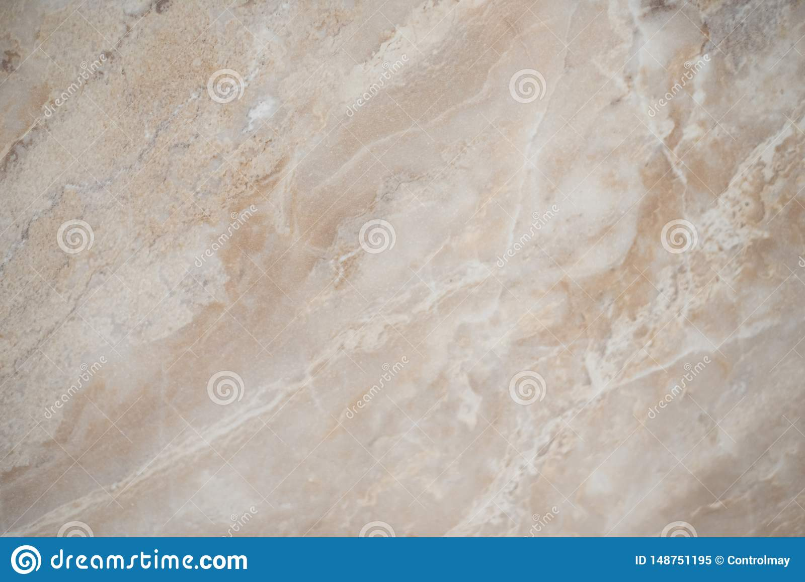 Beau fond de marbre beige Les fissures sur la surface de marbre de marbre blanche pour font le compteur en céramique, texture lég