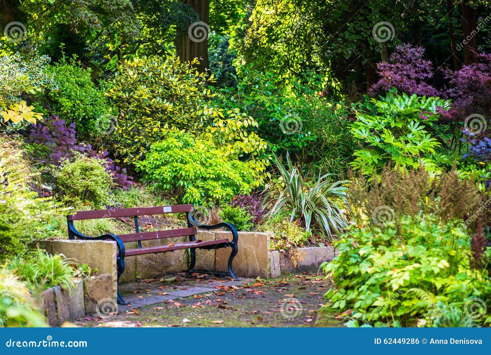 Beau jardin anglais color pendant l 39 automne angleterre for Jardin anglais en angleterre