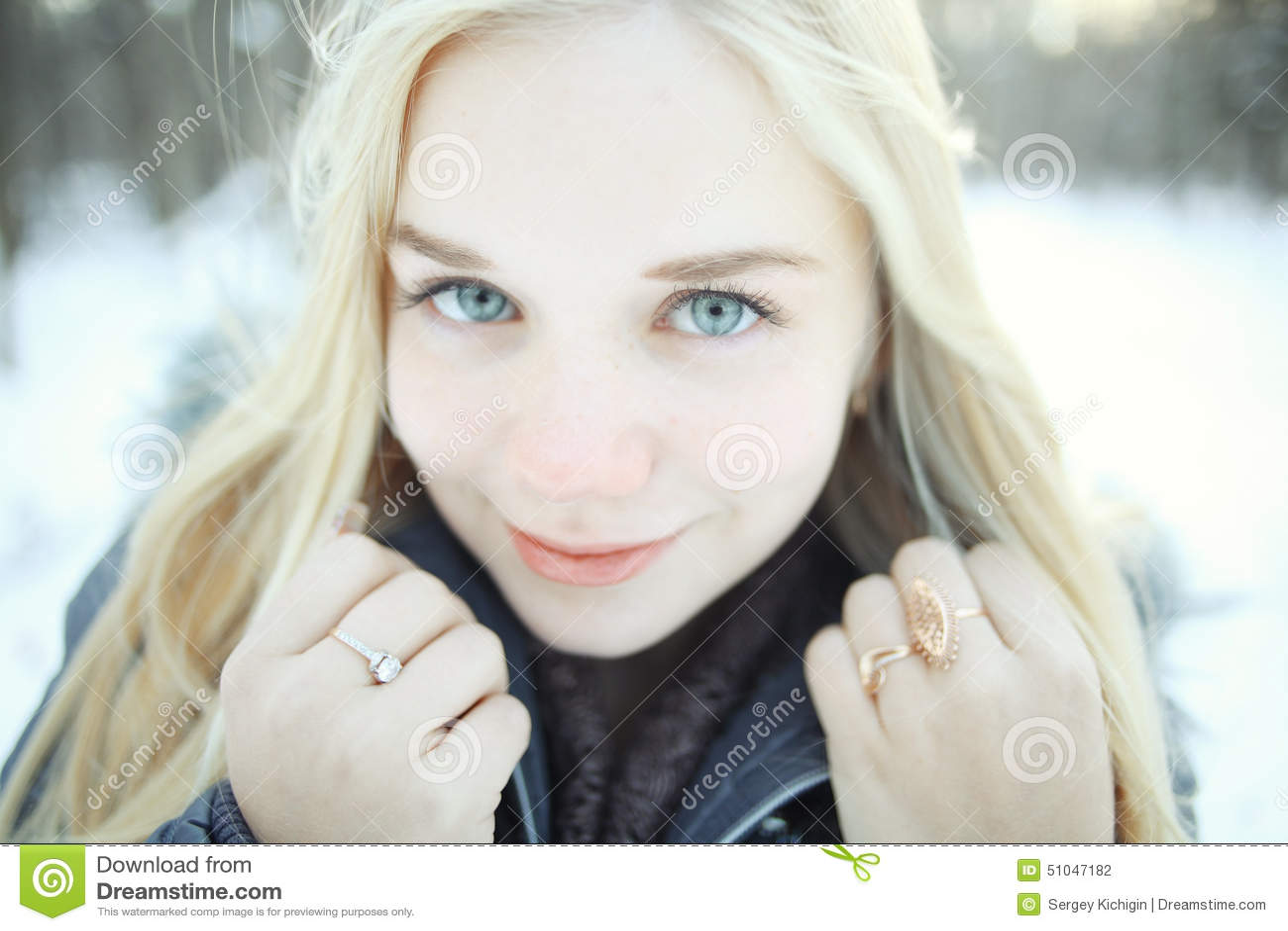Chaud adolescent blondes nue
