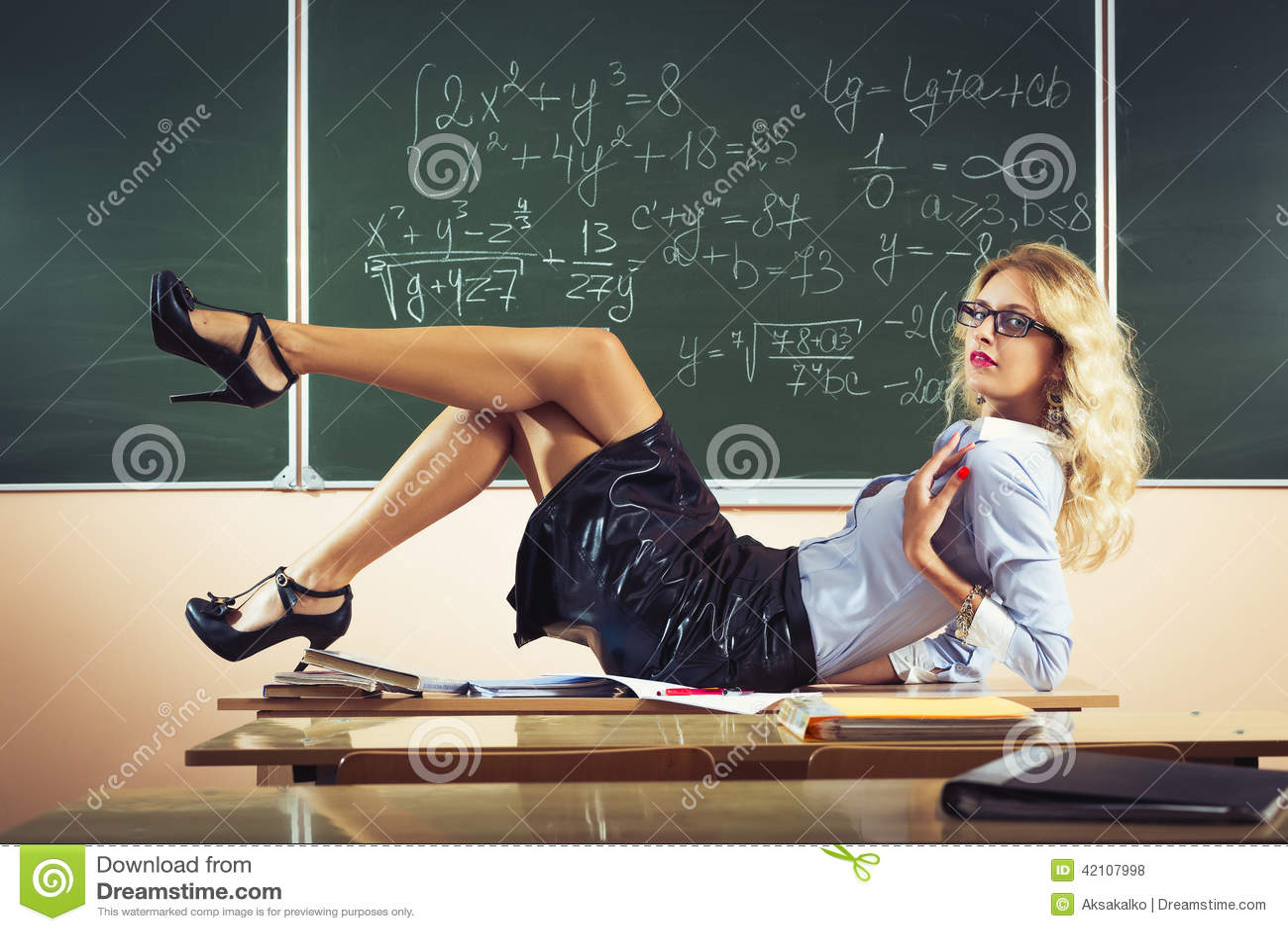 Clips de professeur de sexe