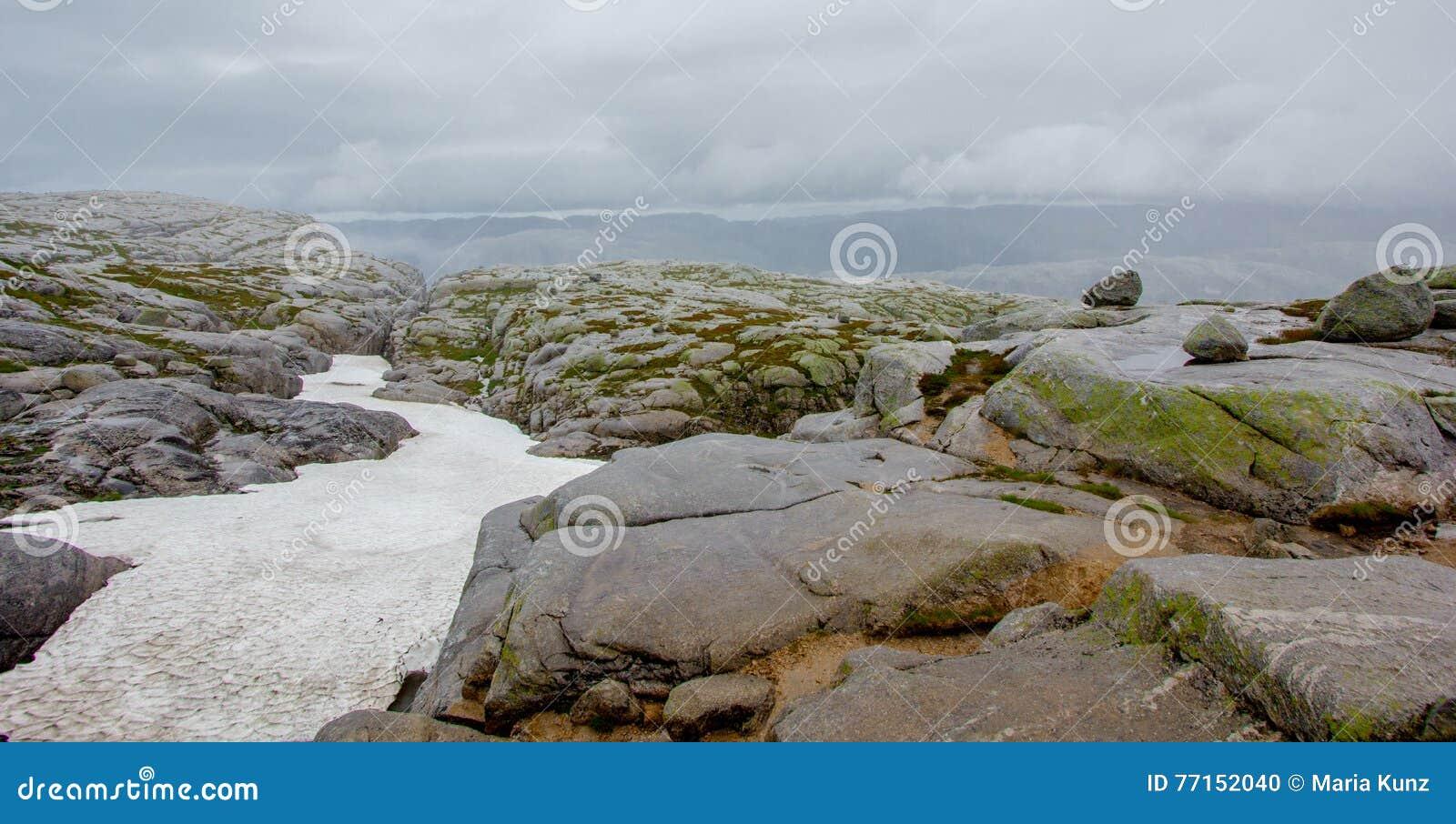 Beau paysage de la Norvège !