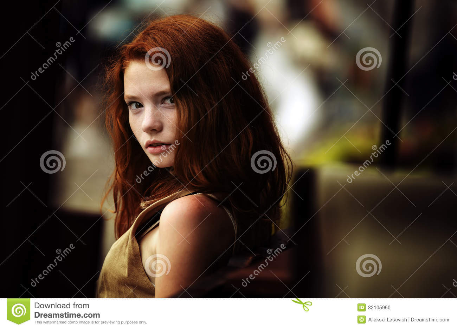 Beau portrait de fille