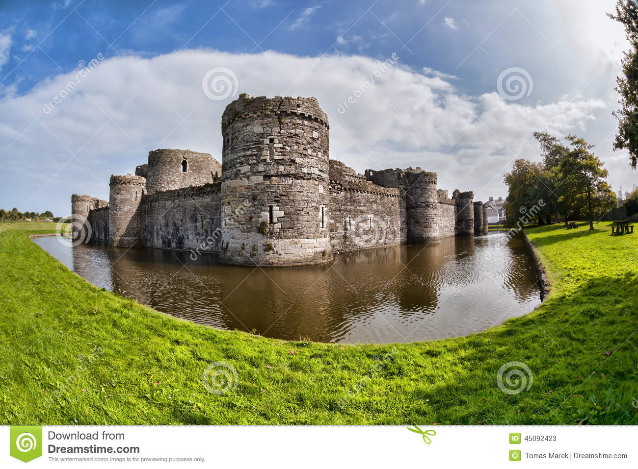 Beaumaris United Kingdom  city images : Stock Photo: Beaumaris Castle in Anglesey, North Wales, United Kingdom ...