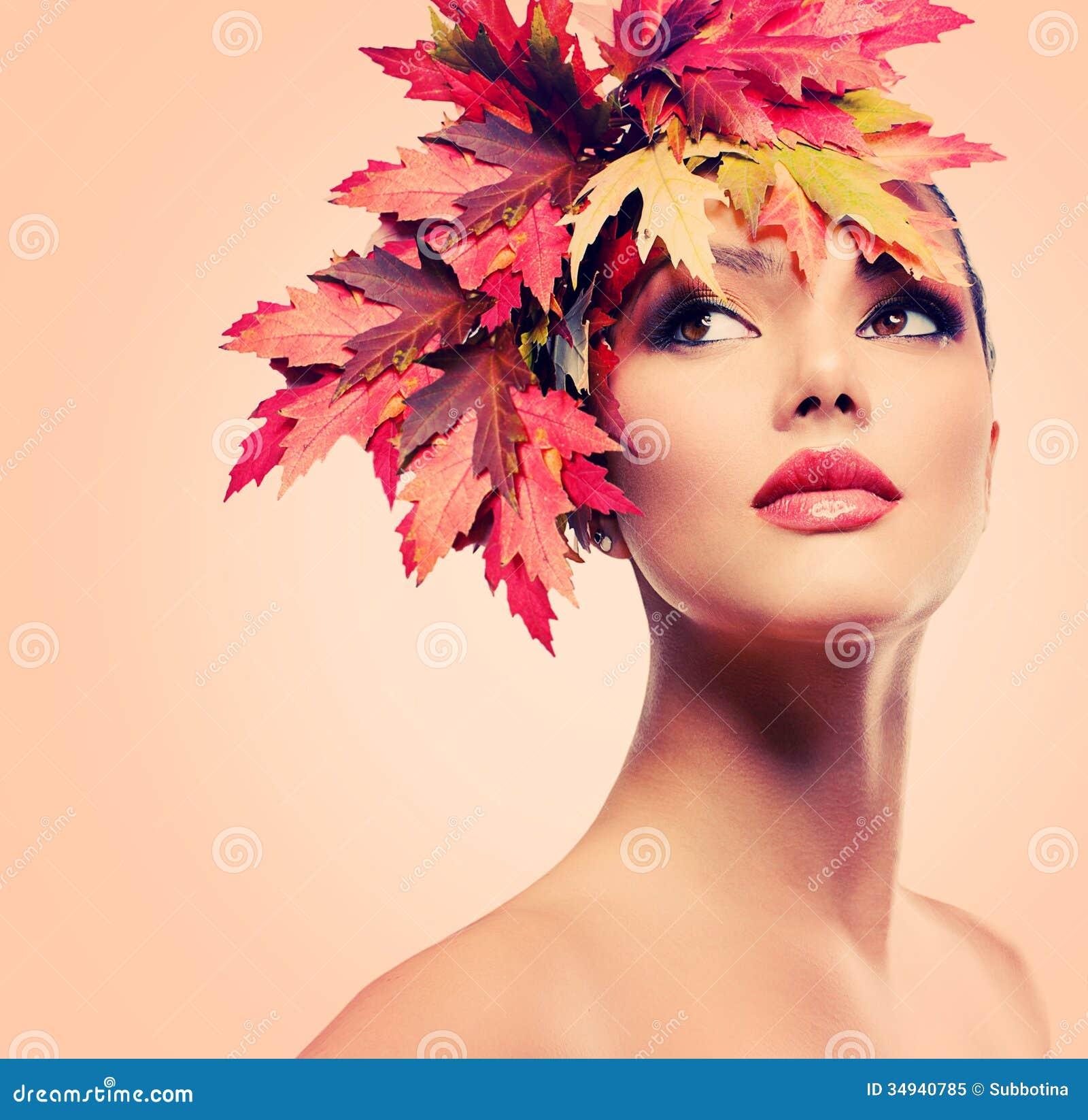 Beauté Autumn Woman