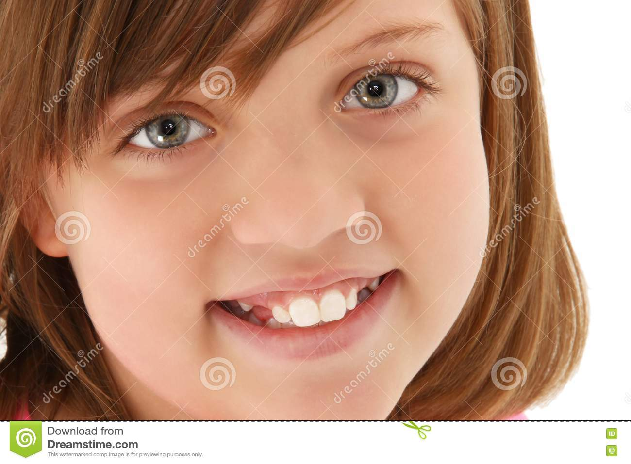 Beautiful 10 Year Old Girl Stock Image. Image Of Pretty