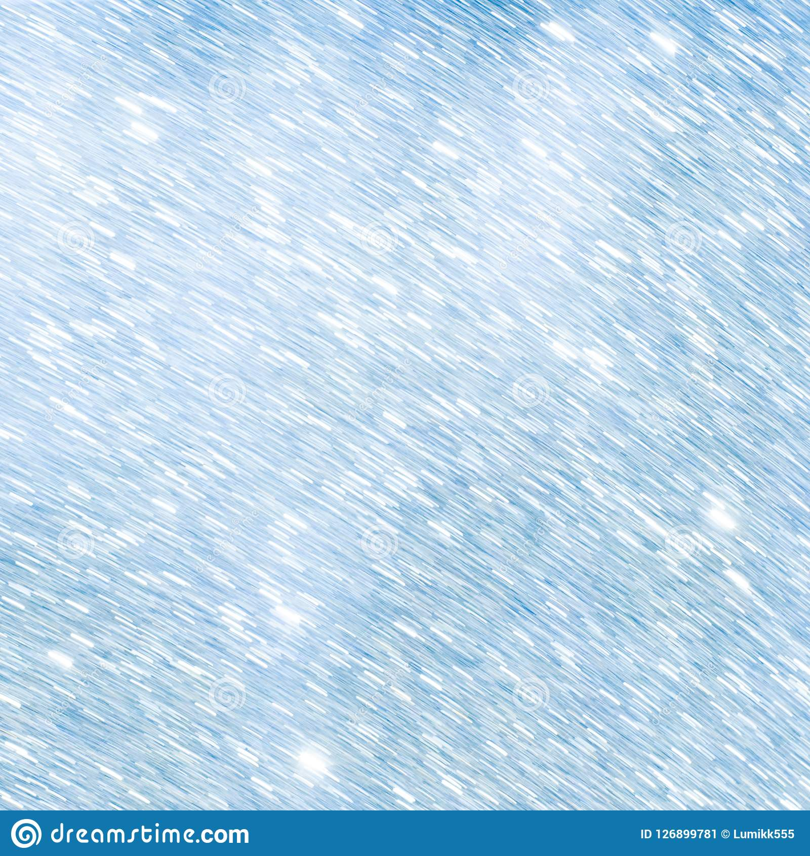 Beautiful Abstract Light Blue And White Winter Background