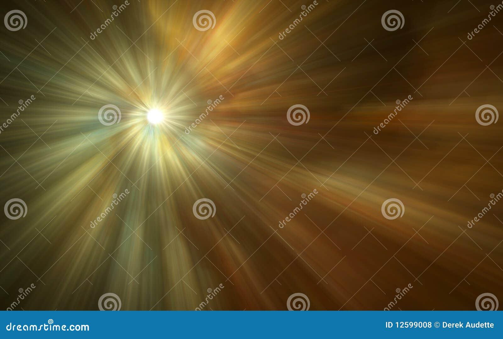 Beautiful Abstract Light Rays
