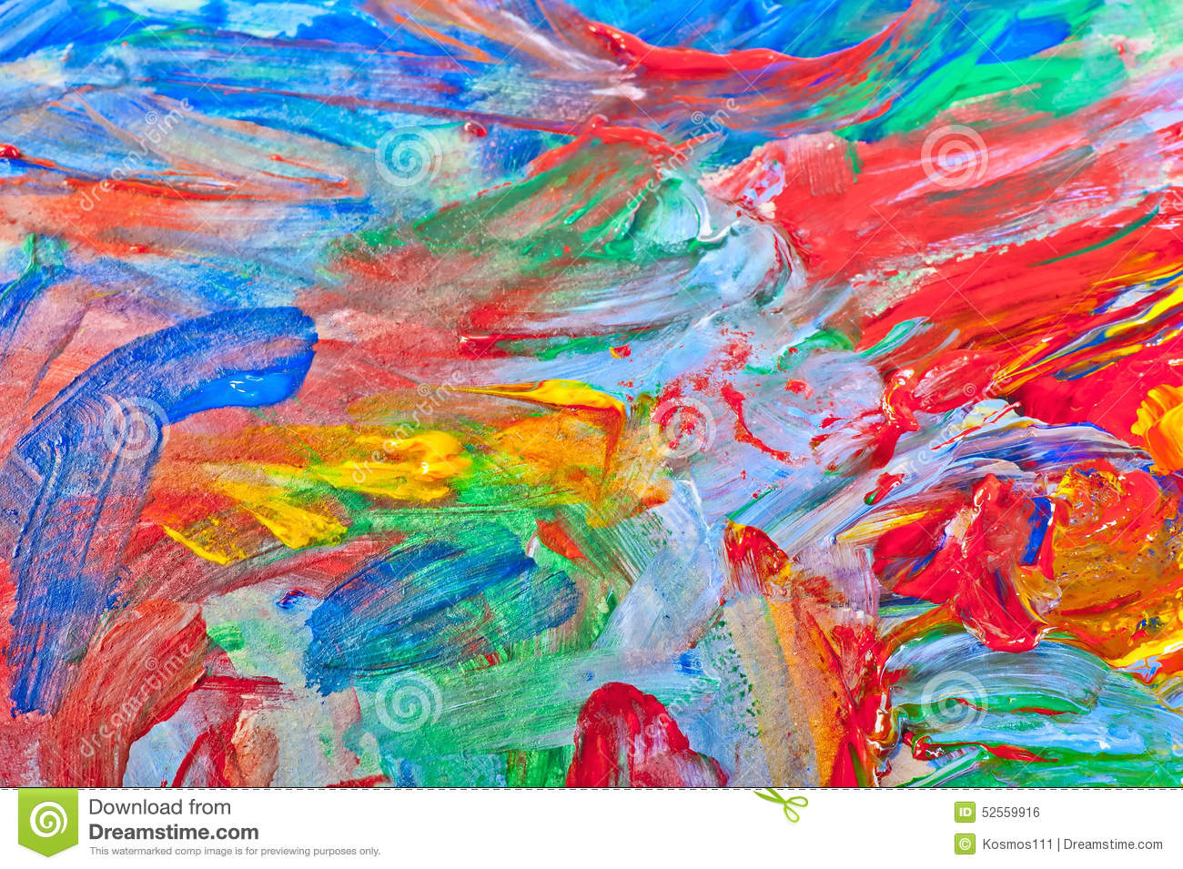 Beautiful abstract painting stock photo image of for Pretty acrylic paintings