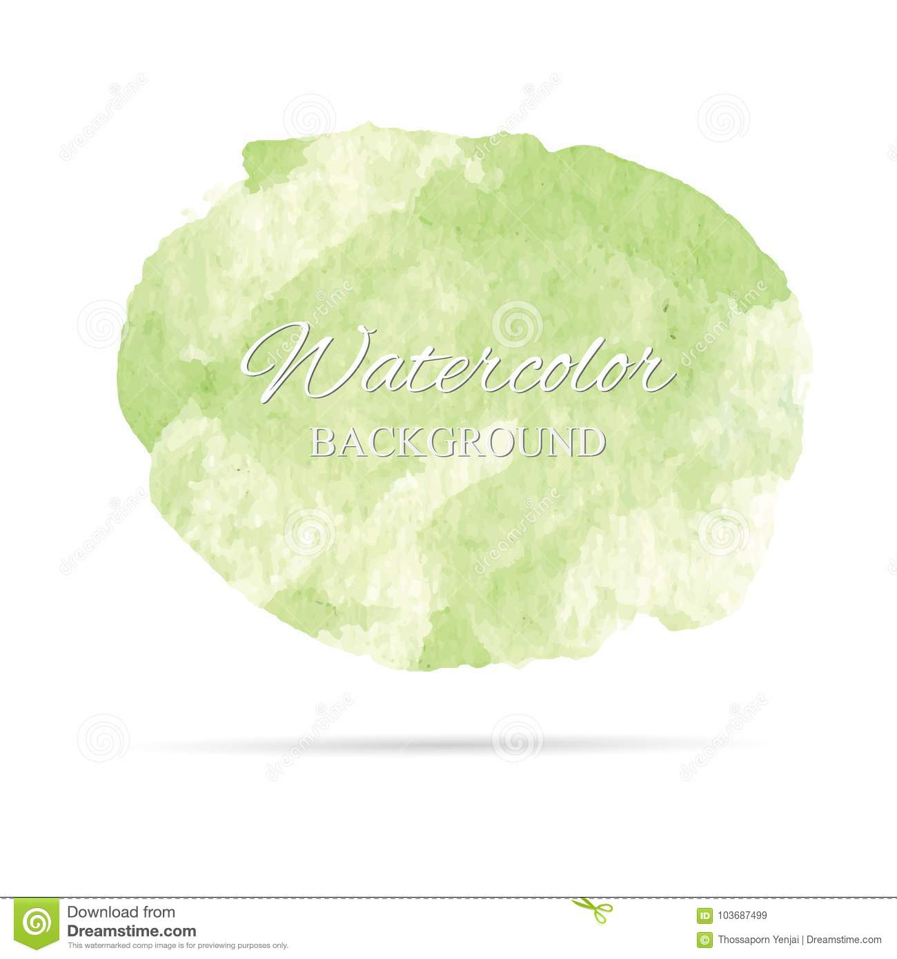 Download Beautiful Abstract Watercolor Art Hand Paint On White Backgroundbrush Textures For Logo