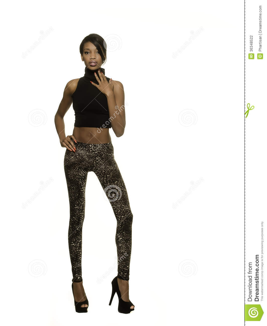 Beautiful African American Model Stock Photography - Image ...