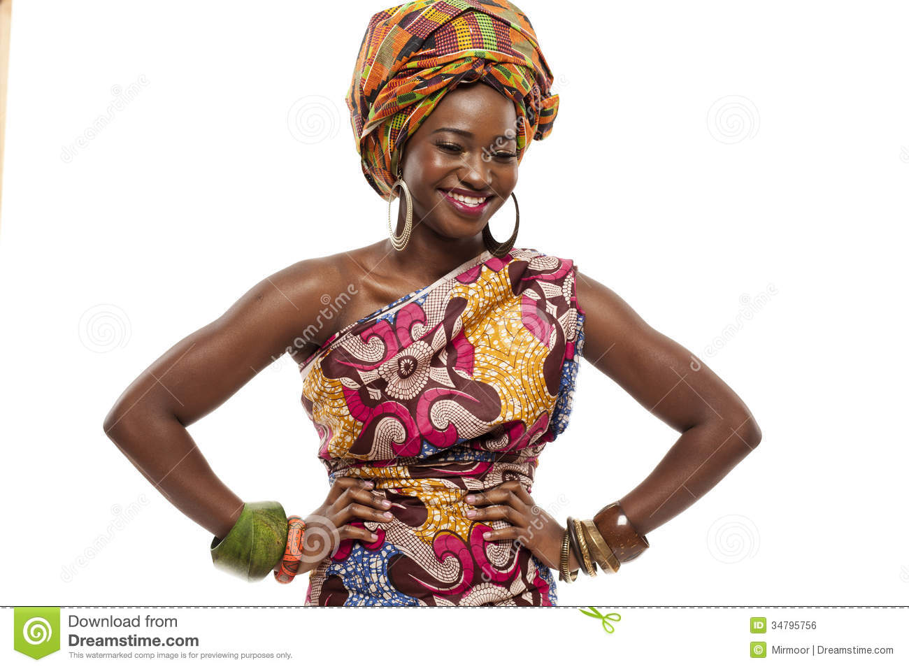 African Woman Fashion Style