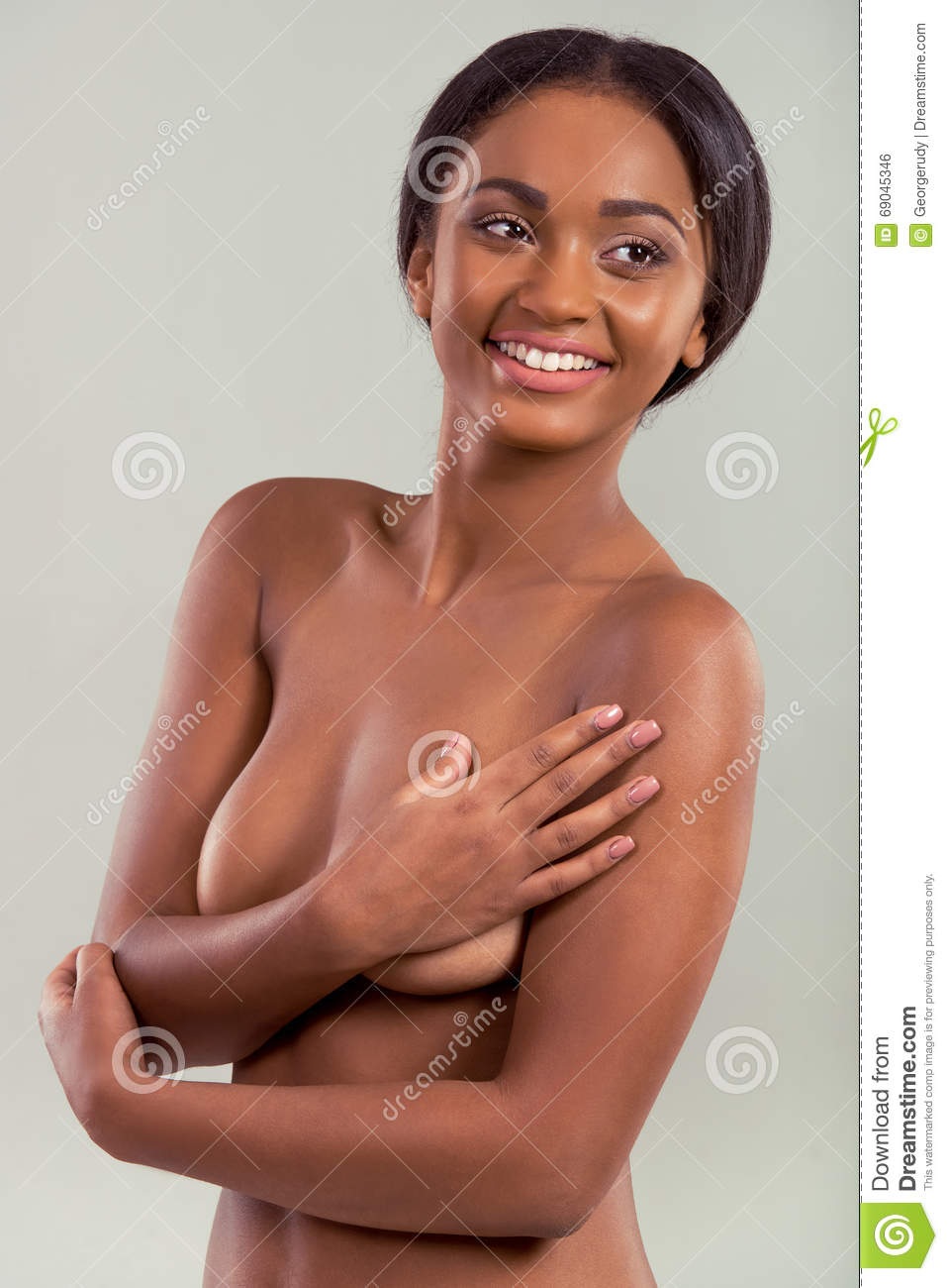 Naked afro american-2276