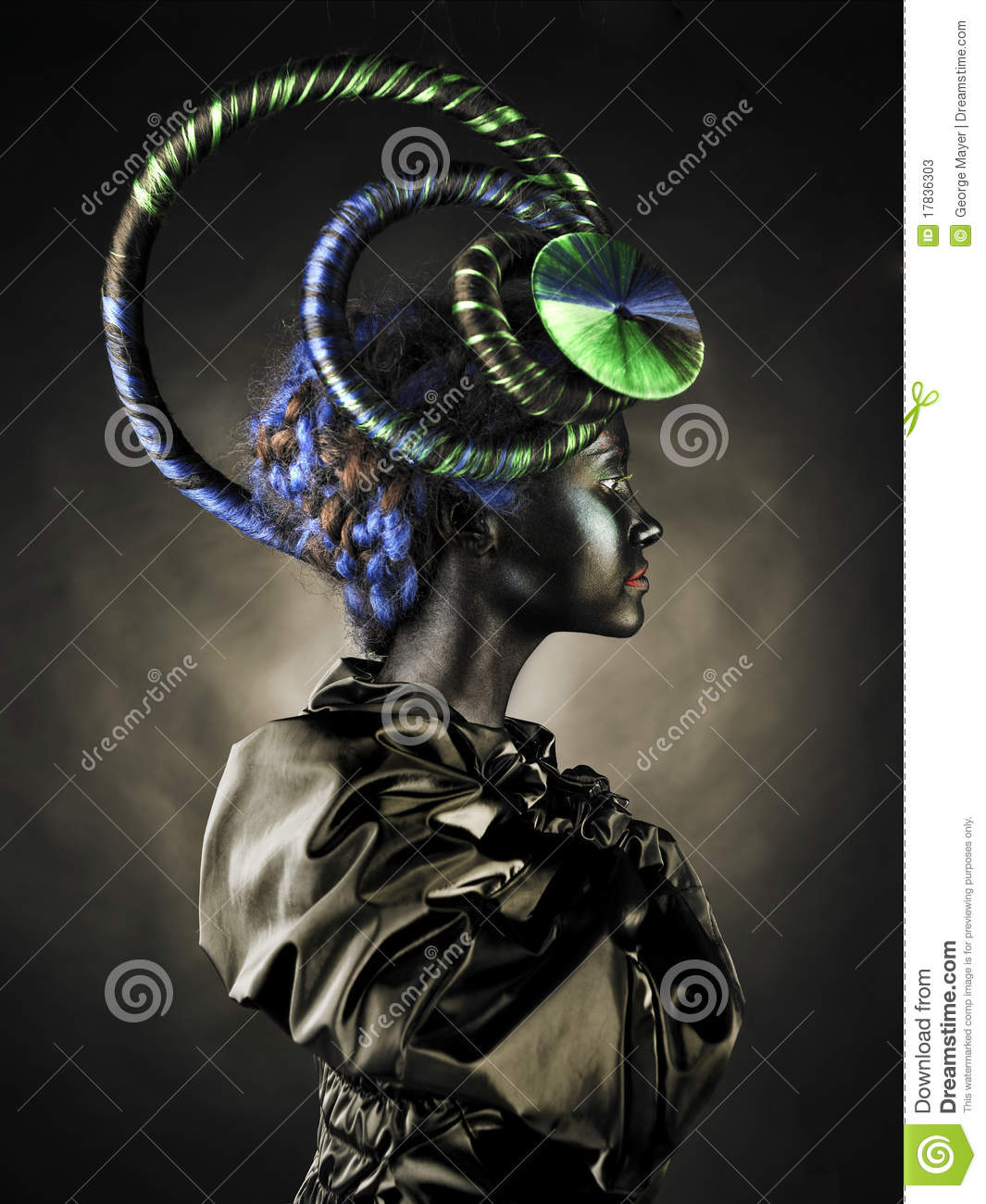 Beautiful Alien Lady Stock Image Image Of Fantasy Dream