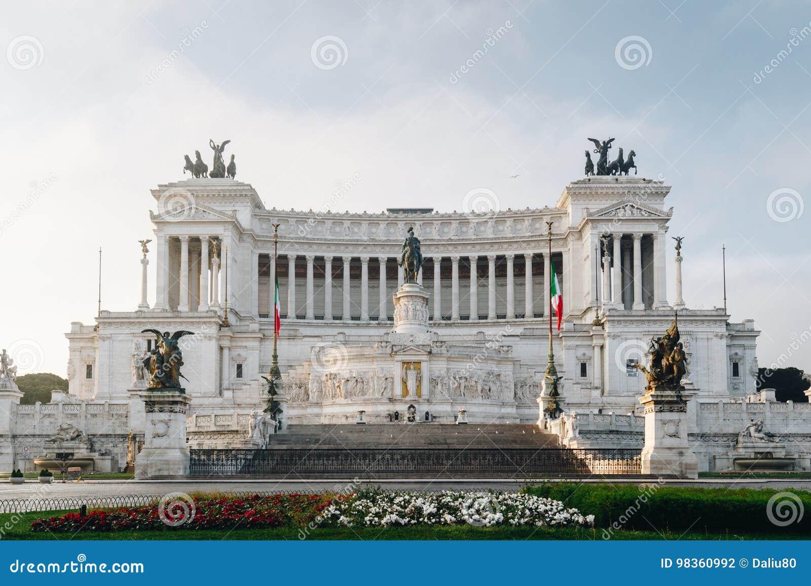 Beautiful Altar Of The Fatherland (Altare della Patria, known as