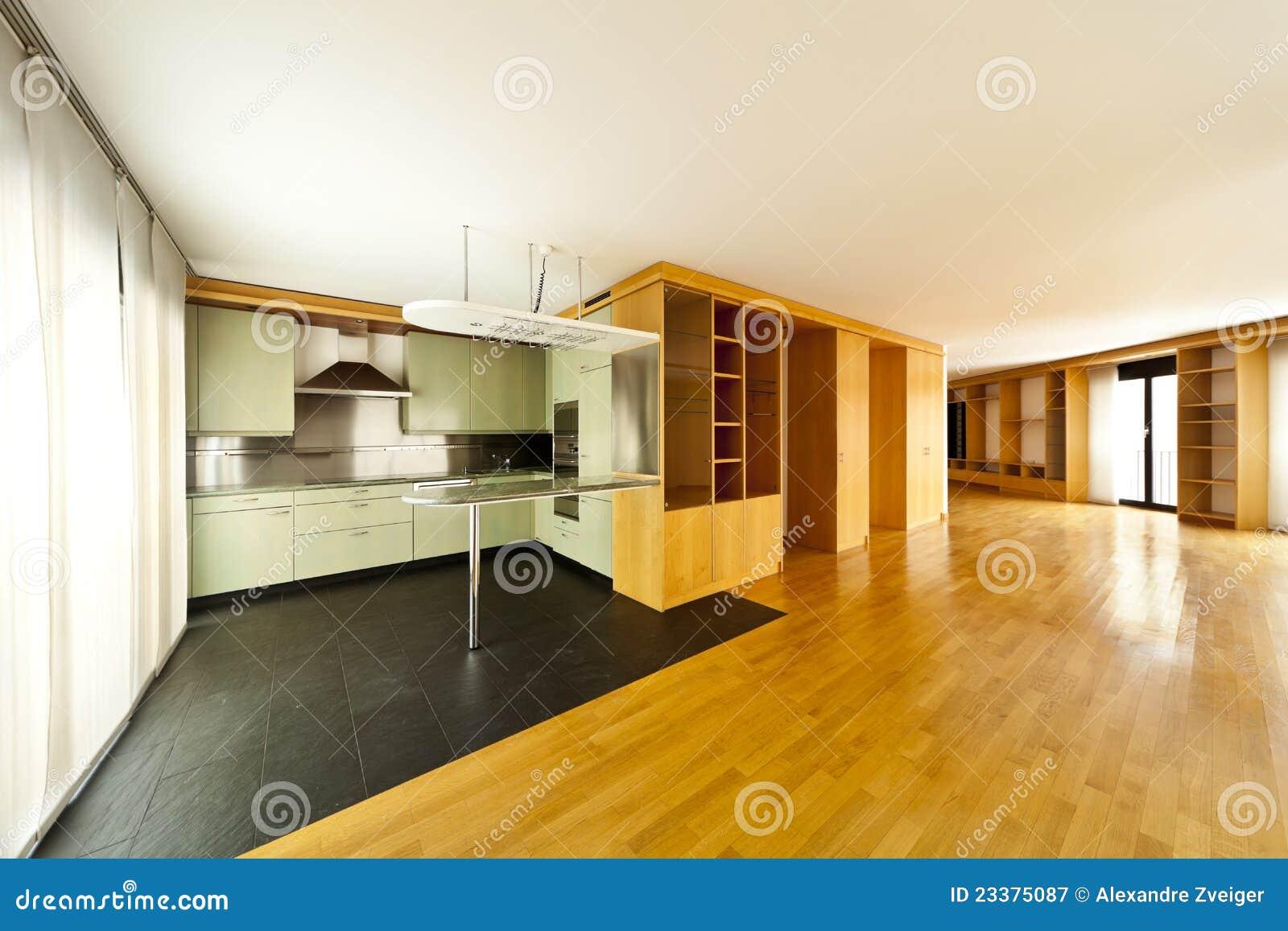 Beautiful apartment interior royalty free stock for Beautiful flats interior