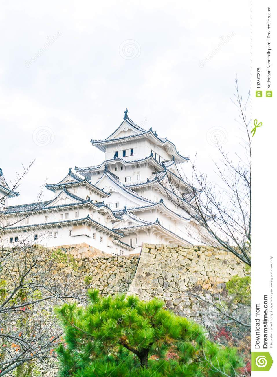 Himeji castle in hyogo prefecture japan unesco world heritage download himeji castle in hyogo prefecture japan unesco world heritage stock photo image publicscrutiny Choice Image