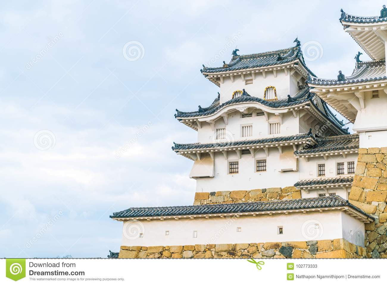 Himeji castle in hyogo prefecture japan unesco world heritage download comp publicscrutiny Choice Image
