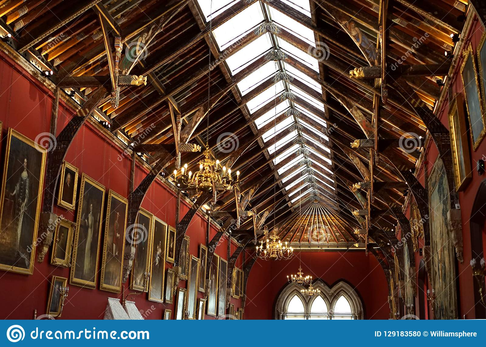Beautiful art and architecture in rafters