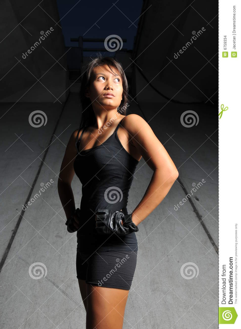 Beautiful Asian Sports Woman Stock Images Image