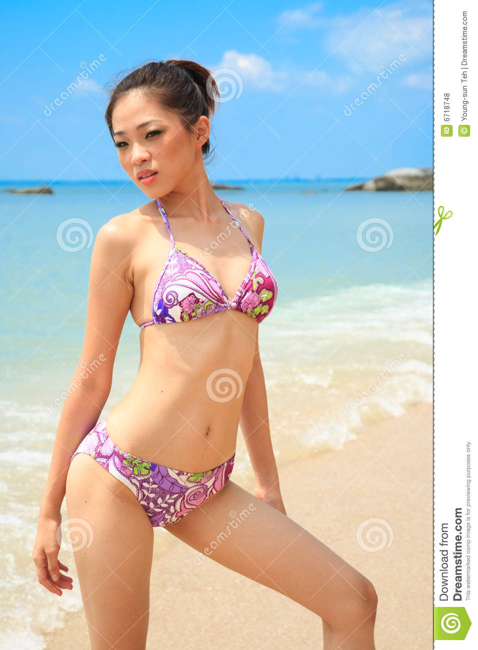 Asian beach photos