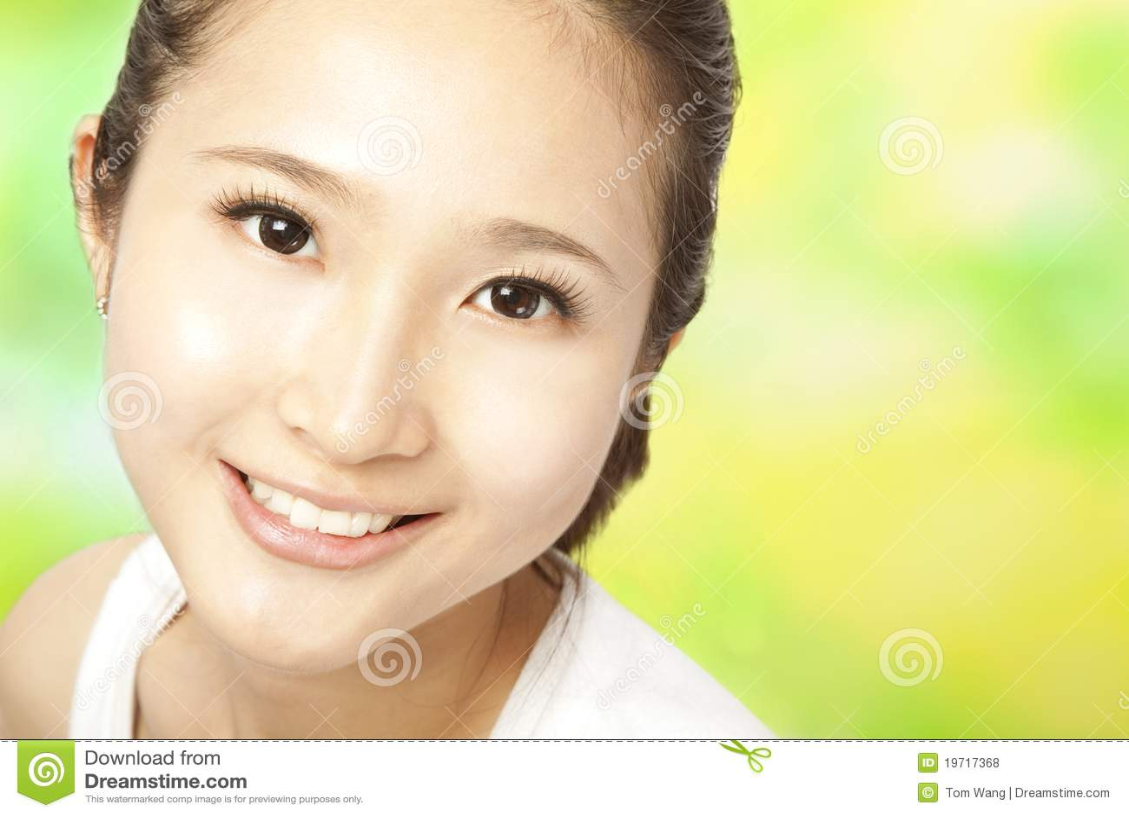 Beautiful Asian Woma
