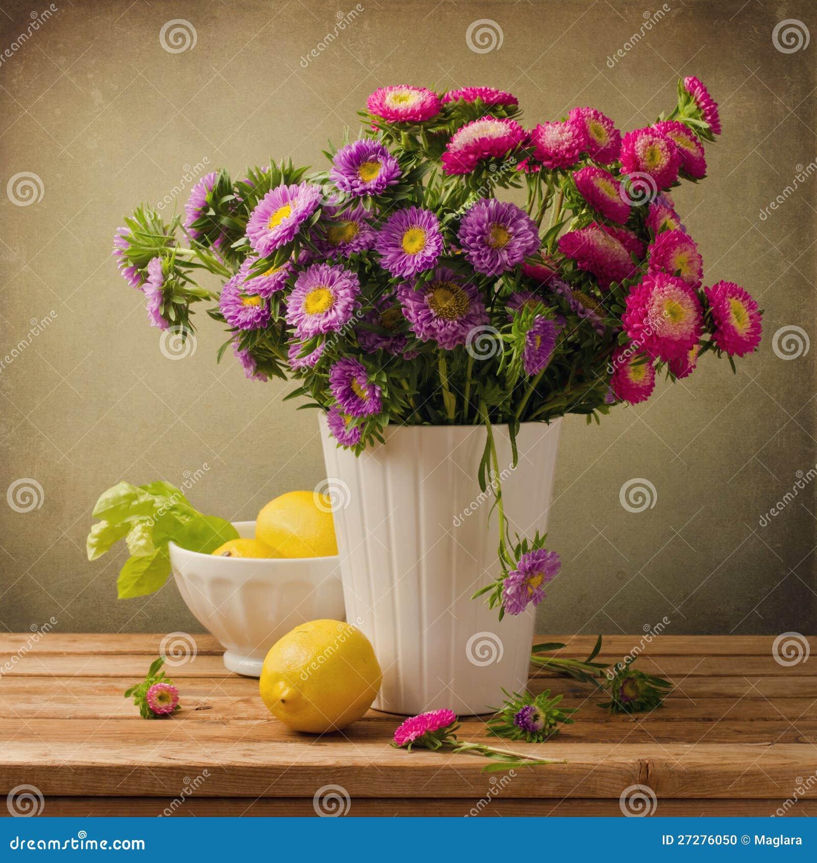 Beautiful aster flower bouquet stock photo image of composition download beautiful aster flower bouquet stock photo image of composition background 27276050 izmirmasajfo