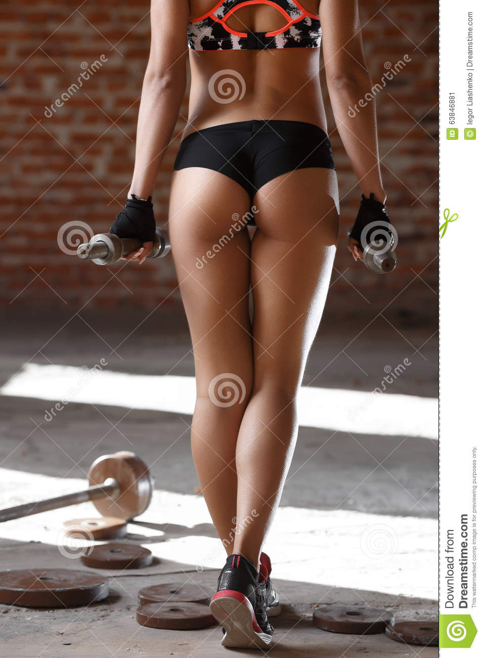 beautiful athletic close-up stock image - image of person, fitness