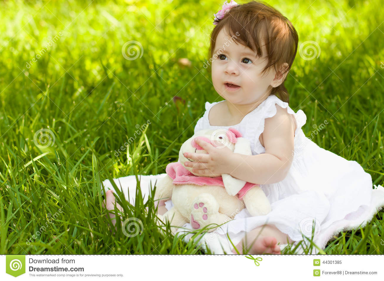 Beautiful Baby Girl Stock Photo - Image: 44301385