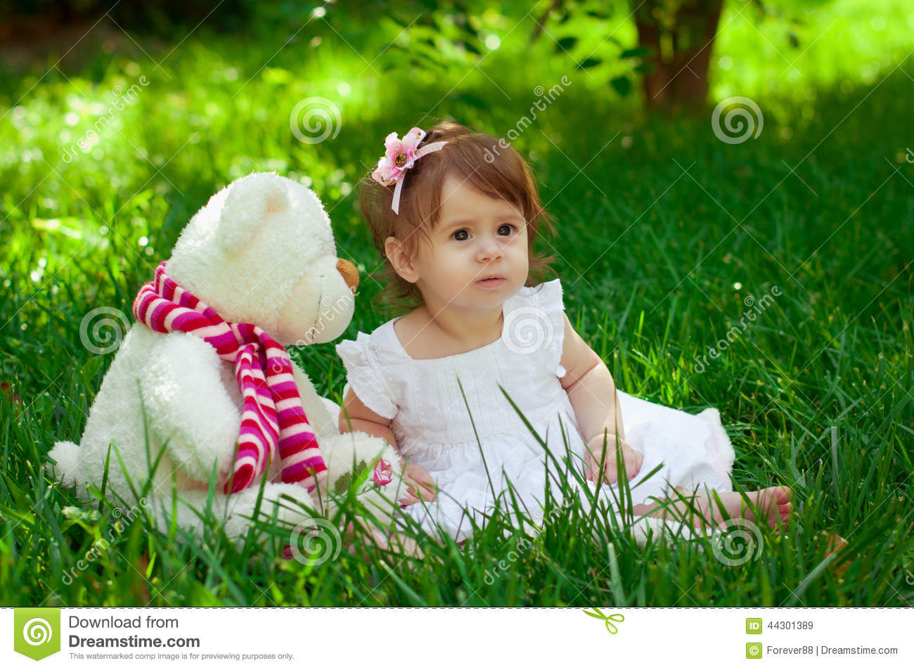 beautiful baby girl stock image. image of beauty, clothing - 44301389