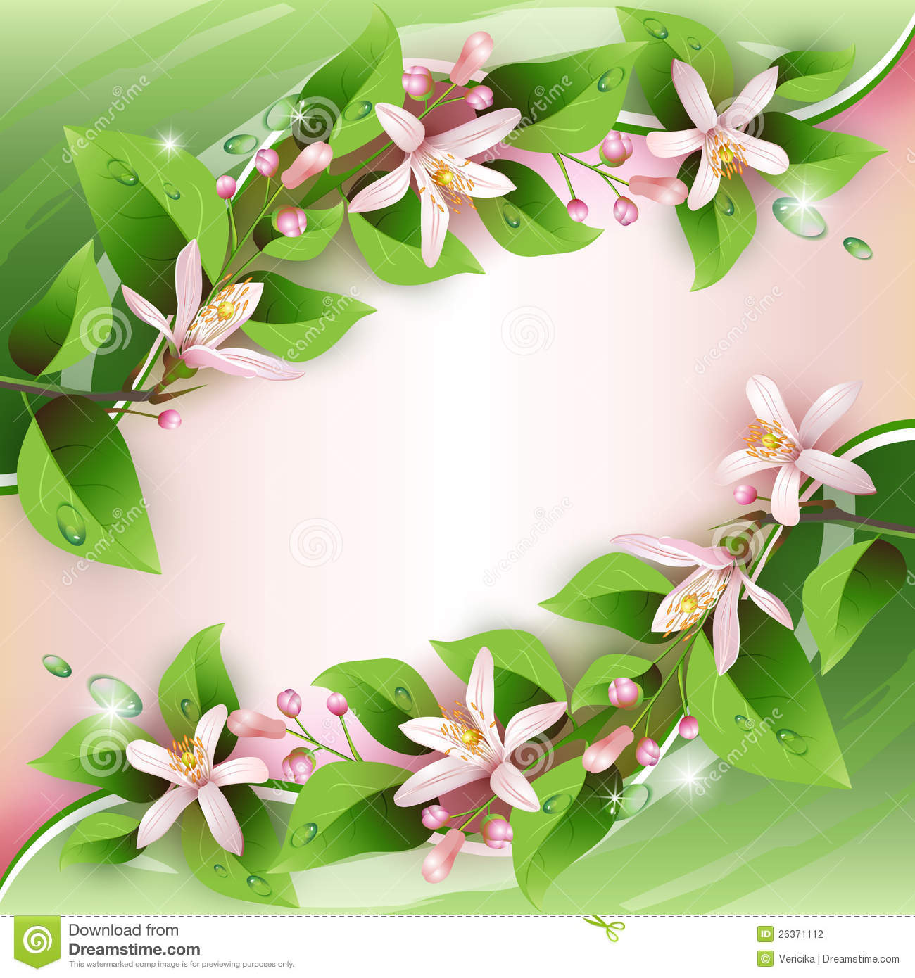 Clipart Flower Tree