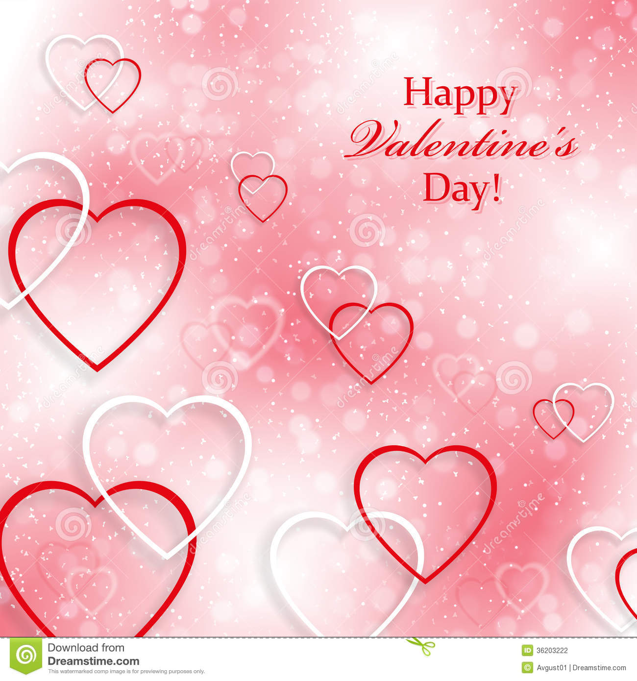 beautiful background for valentines day with heart stock, Beautiful flower